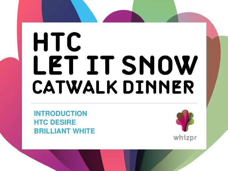 Whizpr case HTC Let it snow