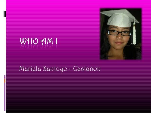 Mariela Santoyo - Castanon