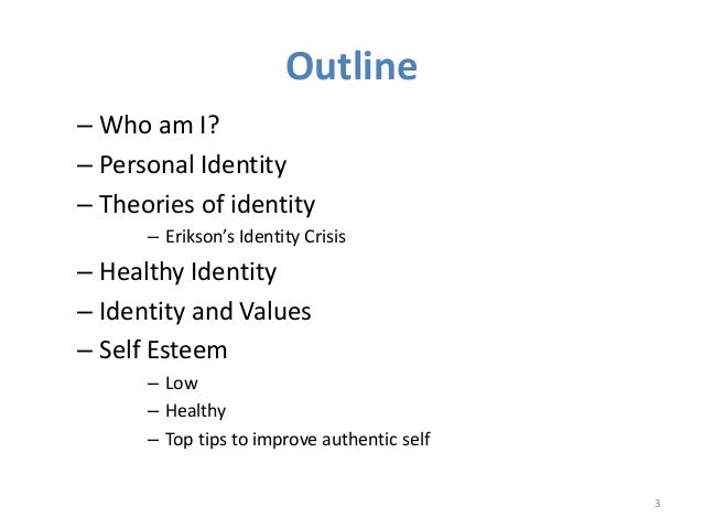 exploring what influences a persons identity Ethnic/racial idenity  i definitions  cultural influences on identity  a the very way we view self and identity.