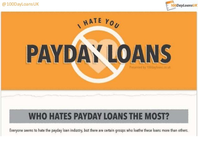 Who hates payday loans most