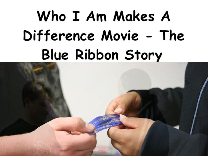 Who I Am Makes A Difference Movie (only with download)
