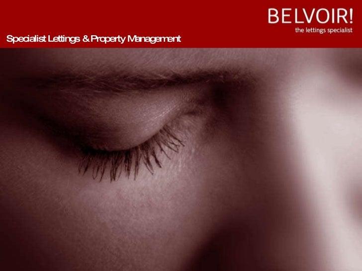 Who Is Belvoir
