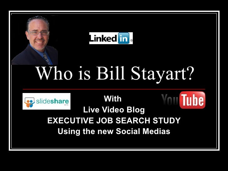 Who Is Bill Stayart Video, have you seen him? Hire him while you can..