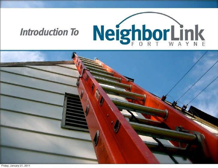 Introduction to NeighborLink Fort Wayne