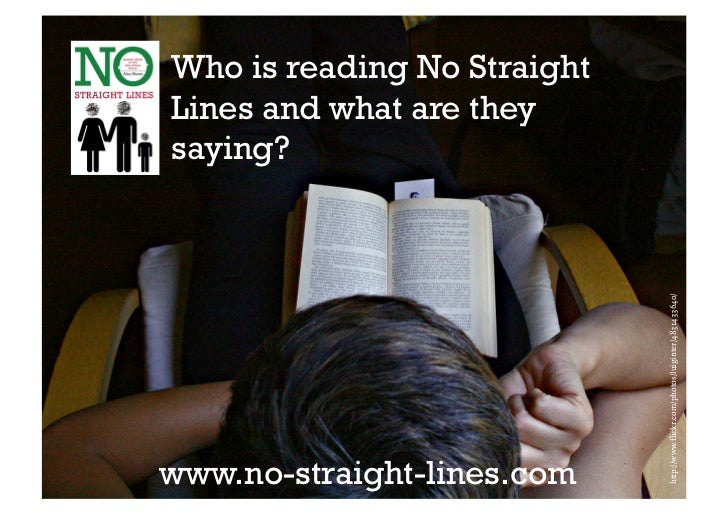 Who is reading No StraightLines and what are theysaying?                             http://www.flickr.com/photos/luiginte...