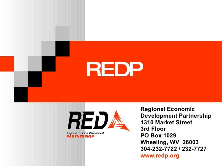 Who Is Red Regional Economic  Development