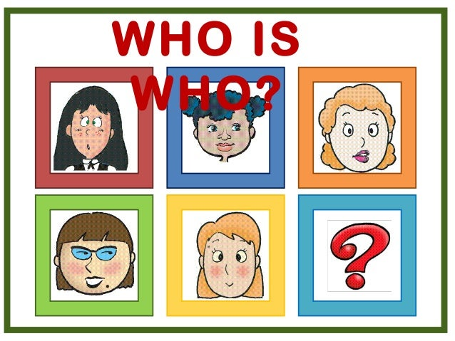 Who Is Who Game on Five Senses