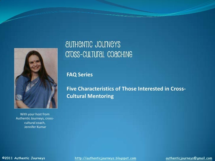 Five Characteristics of Those Interested in Cross-Cultural Mentoring