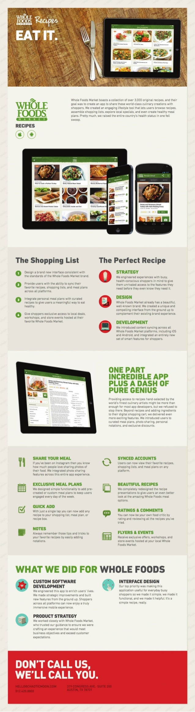 Recipe For Success: Whole Foods & Mobile