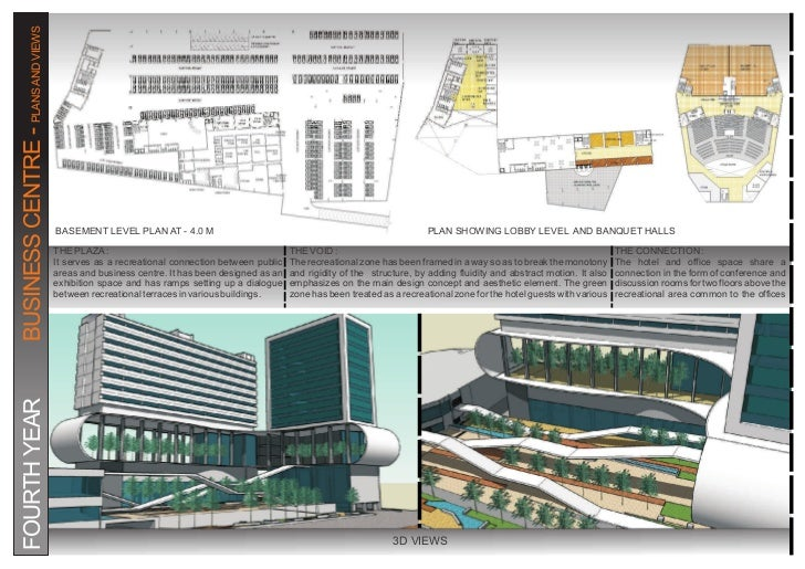 Business center plan