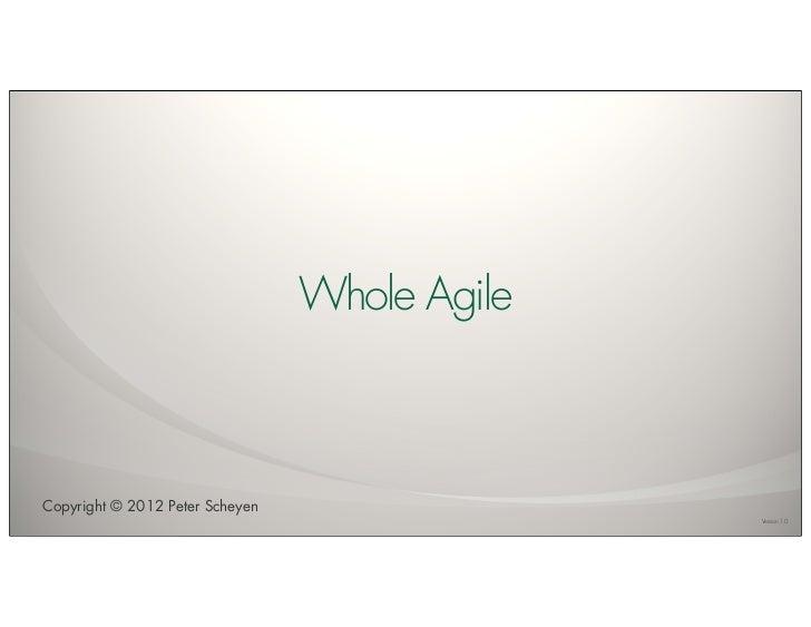 Whole Agile