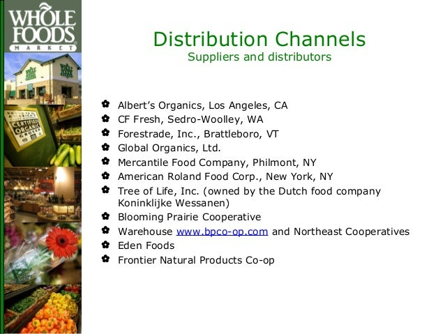 Natural Foods Distributors Wa