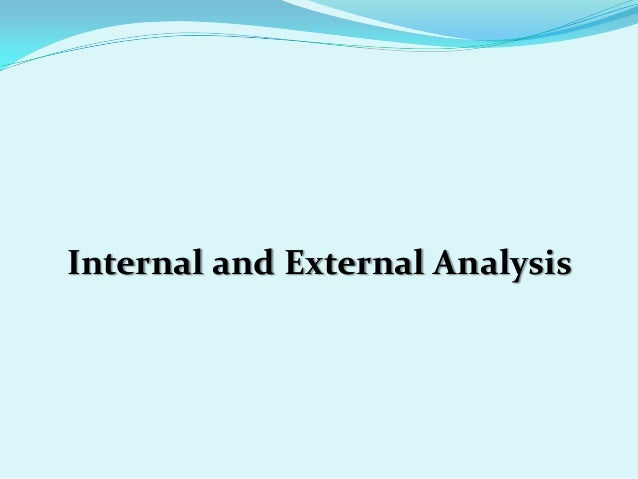 and external analysis 5 swot analysis strengths brand recognition