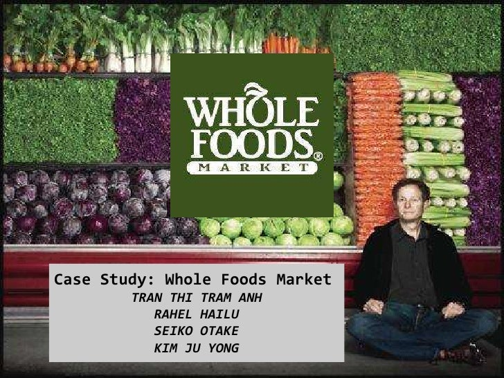whole foods market analysis Whole foods market (nasdaq: wfm) has revealed that its new concept stores, aimed at millennial shoppers and slated for.