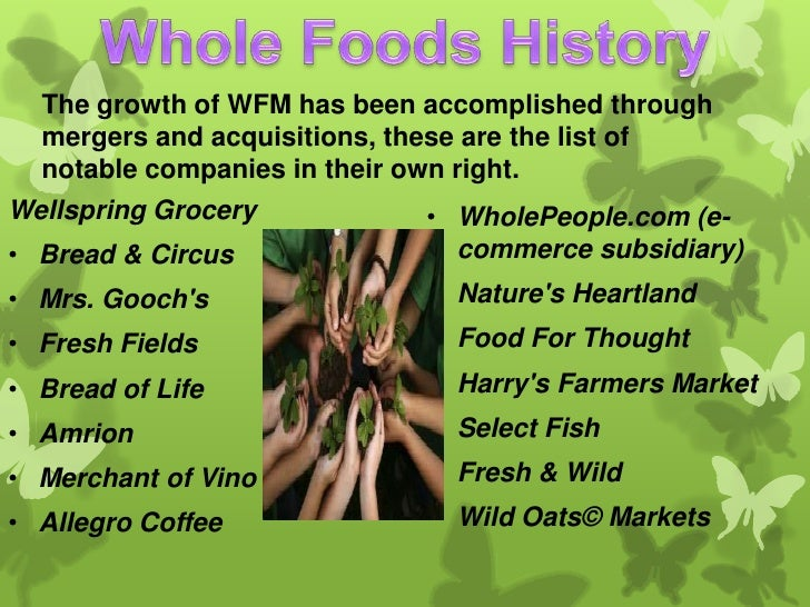 Whole foods case study strategic management