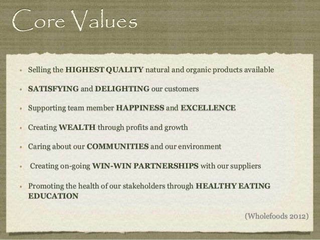 The Ultimate Business Course in Core Values