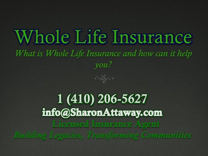 whole life insurancewhat is whole life insurance and how can it help