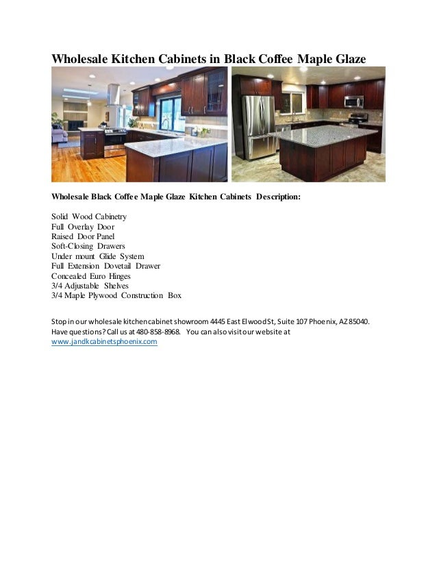 Wholesale black coffee maple glazed kitchen cabinets with for Cheap black kitchen cabinets