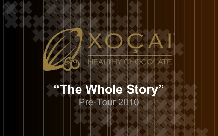 """"""" The Whole Story"""" Pre-Tour 2010"""