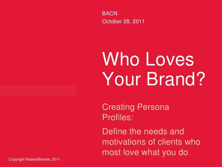 Who loves your brand