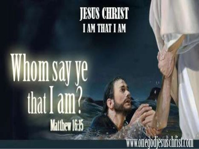 Matthew 16:13-18 13 When Jesus came into the coasts of Caesarea Philippi, he asked his disciples, saying, Whom do men say ...