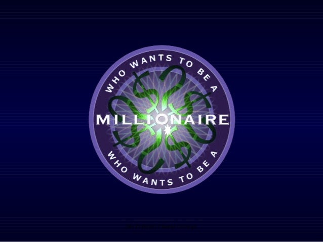 Who wants to be a millionaire income and expenditure and budgeting