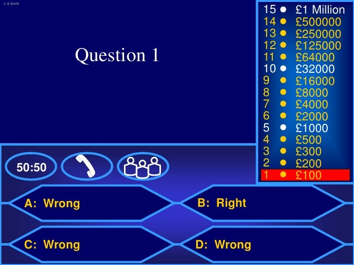 Who Wants To Be A Millionaire Templates Who Wants To Be A - Who wants to be a millionaire online template