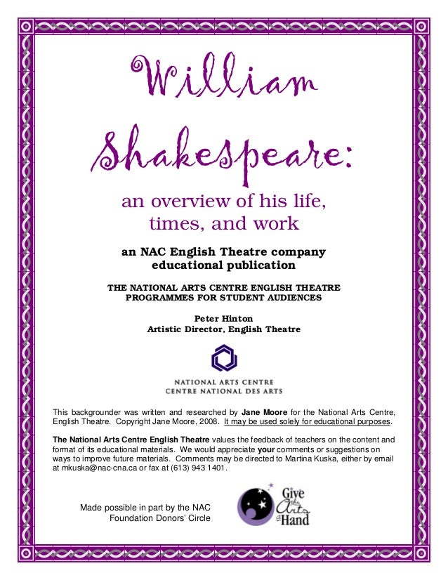 Who was william shakespeare ?