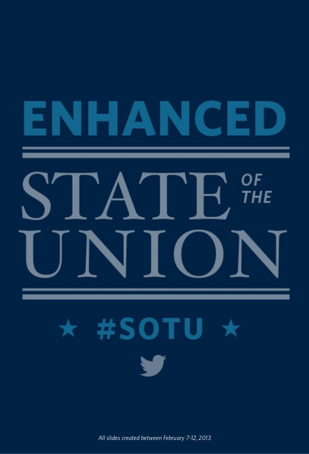 White House State of the Union 2013 Enhanced Graphics