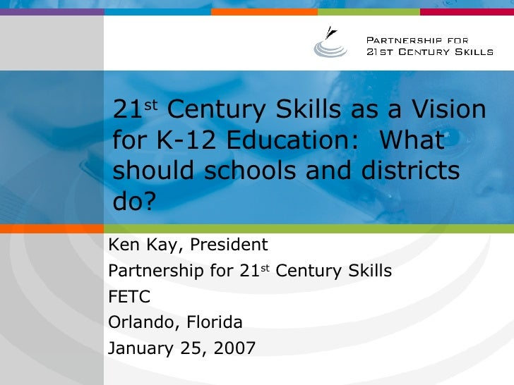 Why 21 centrury skills?