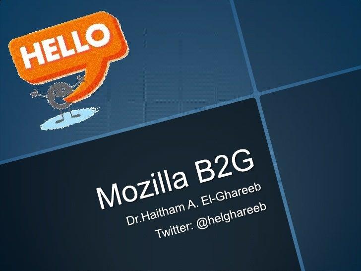 Mozilla B2G