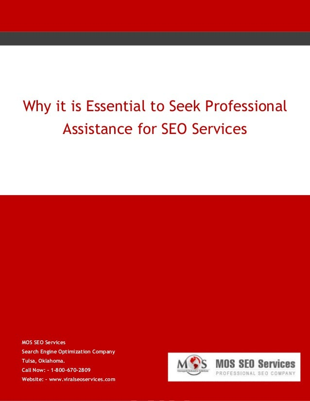 Why It is Essential to Seek Professional Assistance for SEO Services