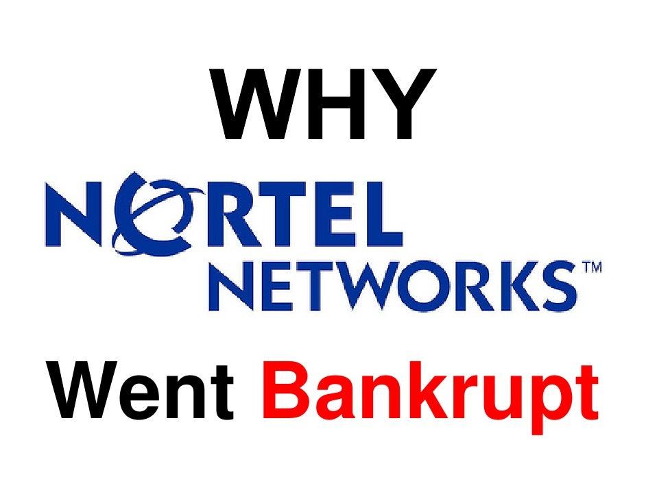 Why Nortel Went Bankrupt