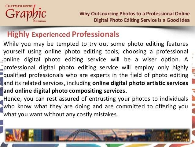 Online editing service