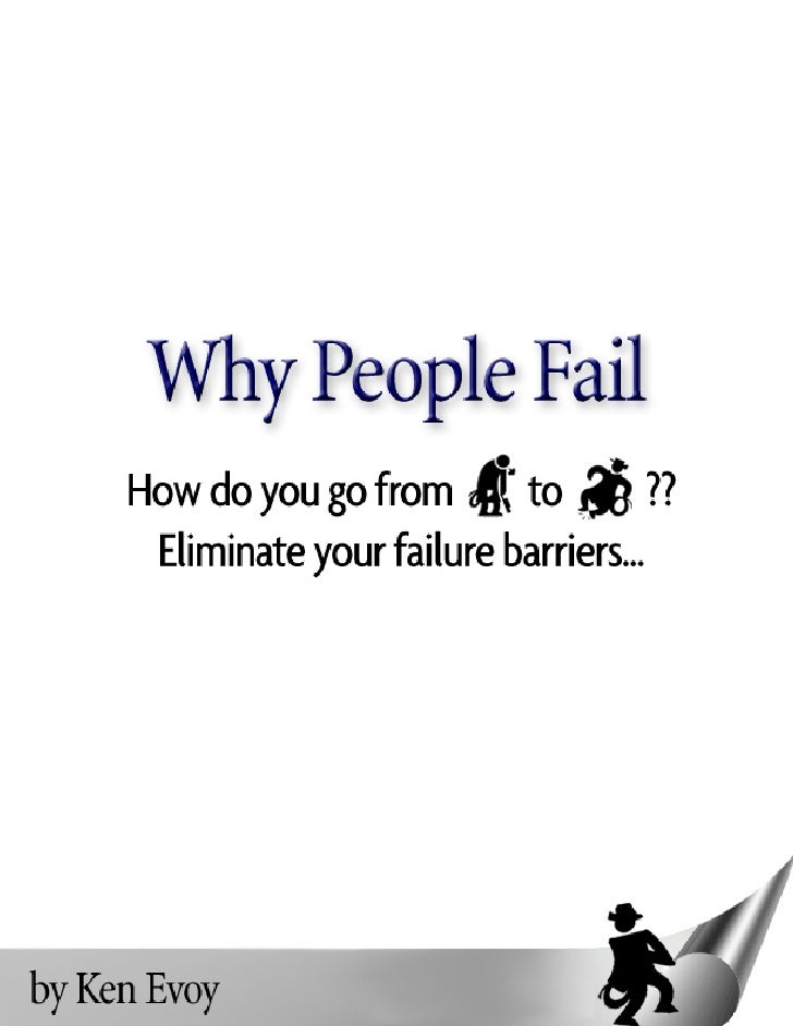 Why People Fail