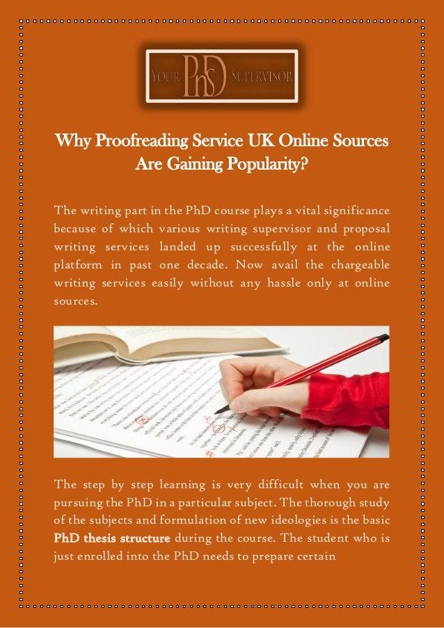 Proofreading service online