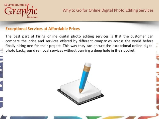 Online editing services