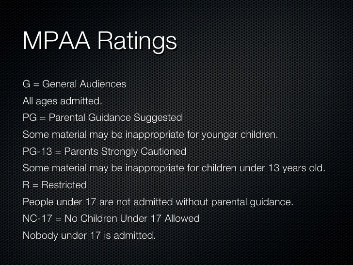 Rated G General Audiences