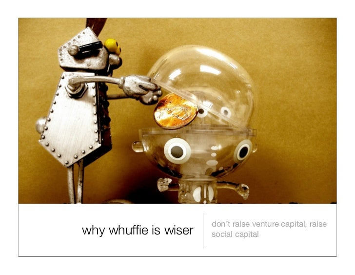 Why Whuffie is Wiser: presentation from IgniteSF
