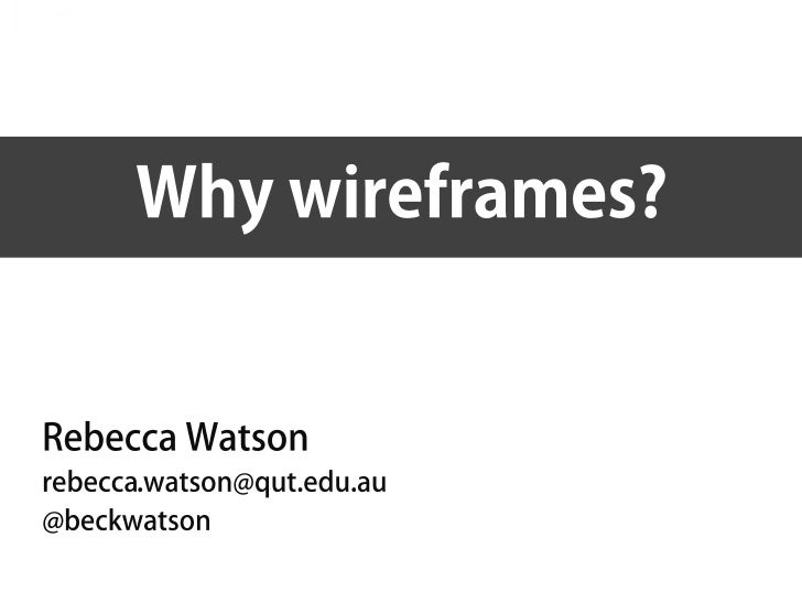 Why wireframes-v2