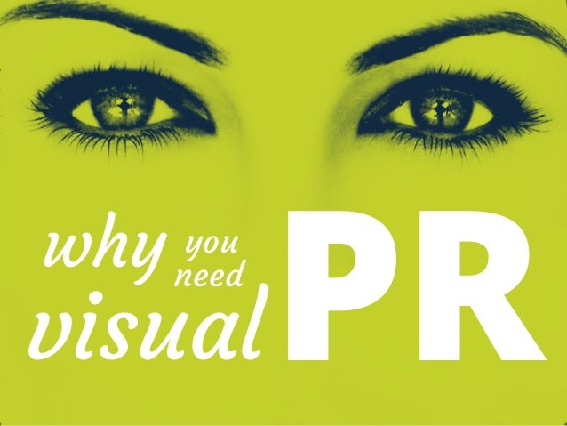 Why you need to do visual PR