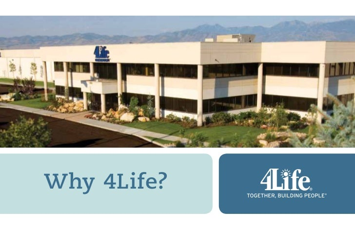 Discover 4Life  Why 4Life?