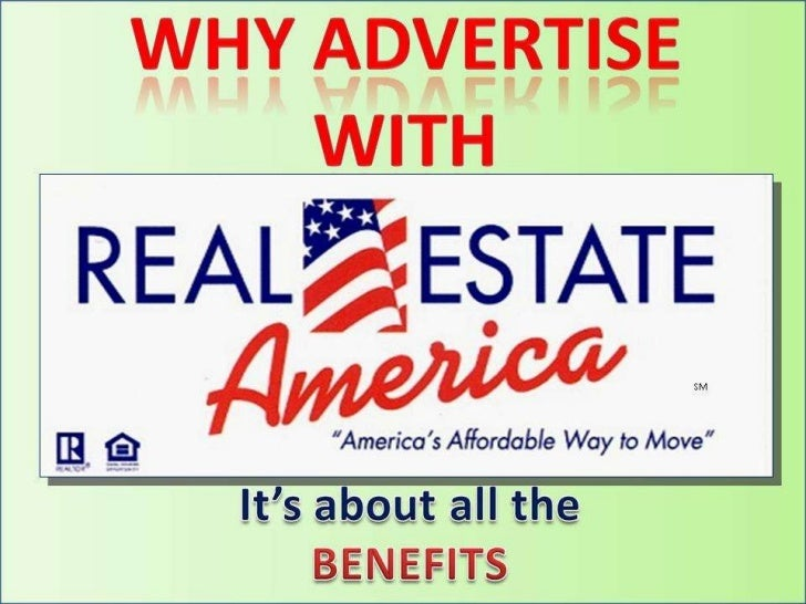 Why Advertise with Real Estate America
