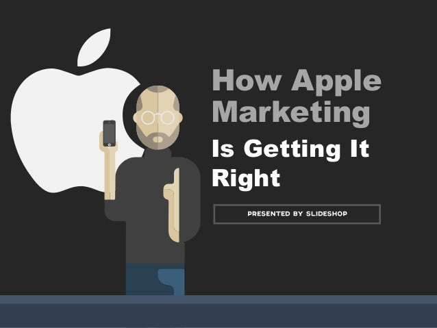 Why apple marketing is doing the right thing