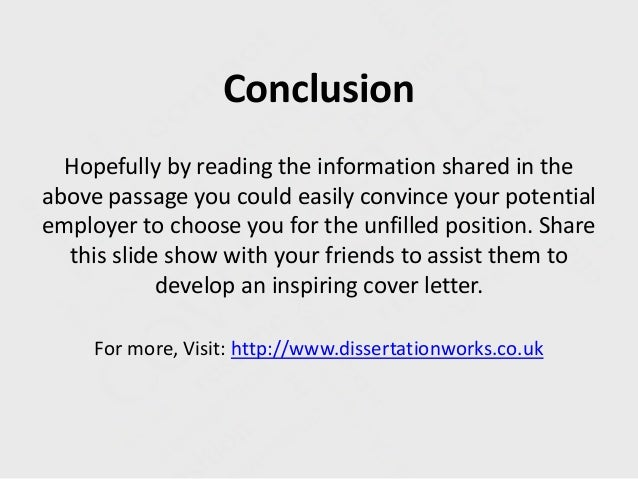 Conclusion Paper