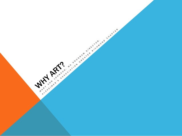 IT ALL BEGAN ….. The Museum of Modern Art in New York City (MOMA), developed a drop in program for persons with cognitive ...