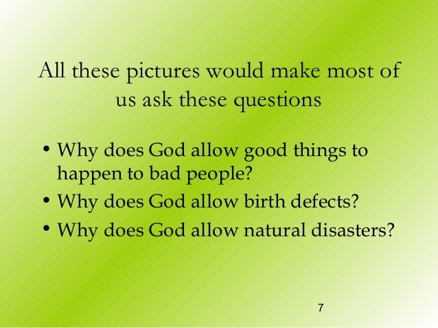 Questions To Ask About Natural Disasters