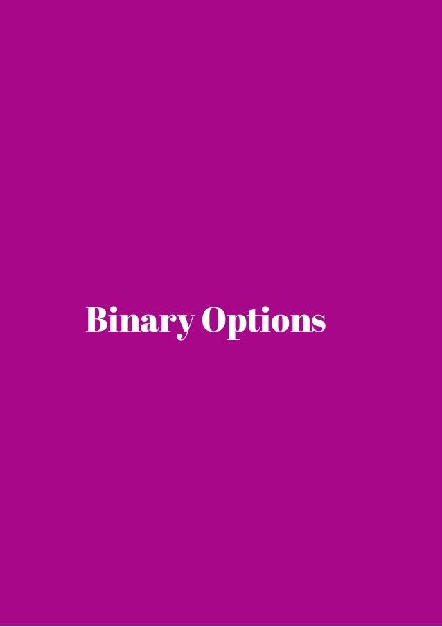 Cosa sono le binary options