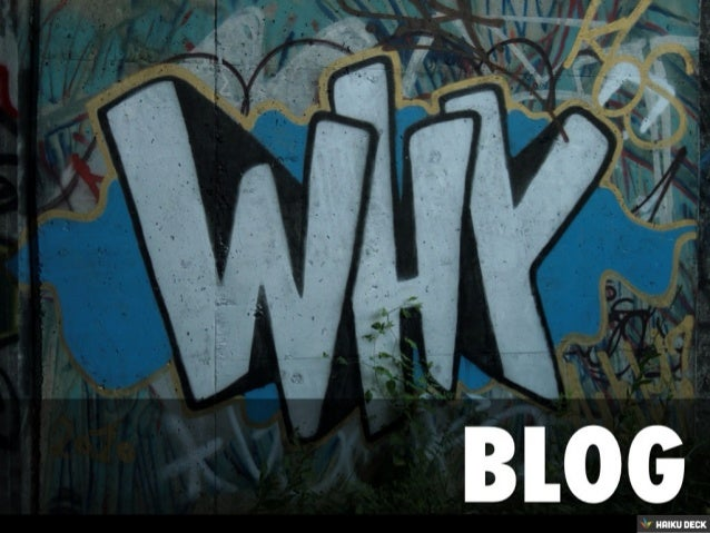 Why Blog? Tips For Students
