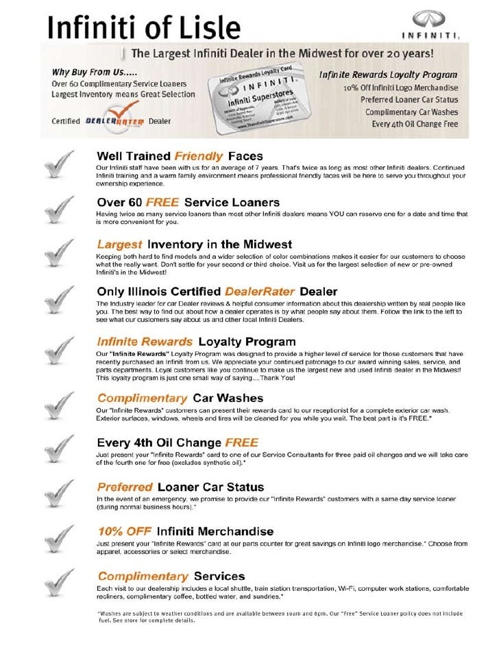 Why Buy From Us Brochure 2009